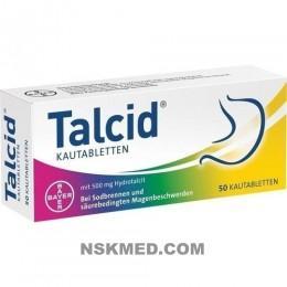 TALCID Kautabletten 50 St