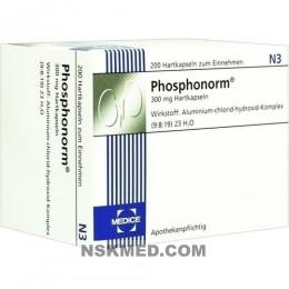 Фосфонорм капсулы (PHOSPHONORM) Hartkapseln 200 St